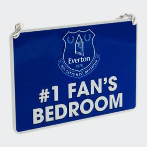 Everton Bedroom Sign No.1 Fan