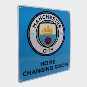 Manchester City Home Changing Room Sign