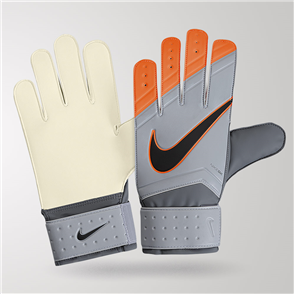 Nike Match GK Gloves – Grey/Orange