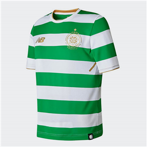 New Balance Junior 2017-18 Celtic Home Shirt