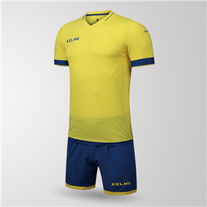Kelme Capitan Jersey & Short Set – Yellow/Blue