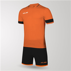 Kelme Capitan Jersey & Short Set – Orange/Black