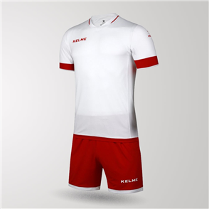 Kelme Junior Capitan Jersey & Short Set – Red/White