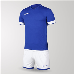 Kelme Junior Capitan Jersey & Short Set – Blue/White