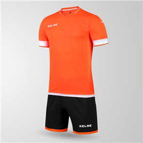 Kelme Junior Capitan Jersey & Short Set – Orange/White