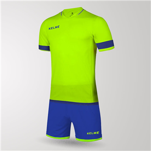 Kelme Junior Capitan Jersey & Short Set – Yellow/Blue