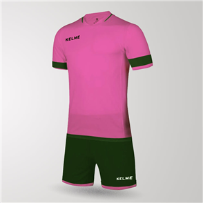 Kelme Junior Capitan Jersey & Short Set – Pink/Blue