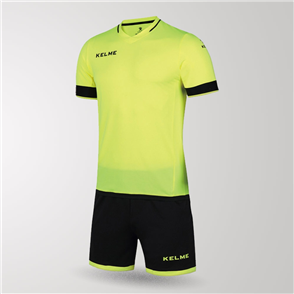 Kelme Junior Capitan Jersey & Short Set – Yellow/Black