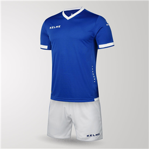 Kelme Junior Defensa Jersey & Short Set – Blue/White