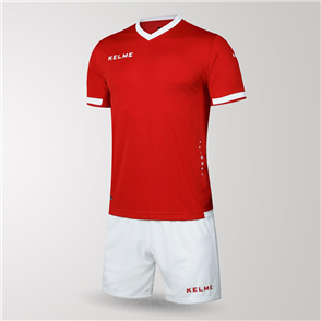 Kelme Junior Defensa Jersey & Short Set – Red/White