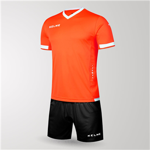 Kelme Junior Defensa Jersey & Short Set – Orange/White