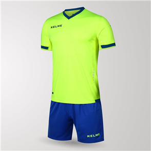 Kelme Junior Defensa Jersey & Short Set – Green/Blue