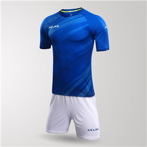 Kelme Junior Extremo Jersey & Short Set – Blue/White
