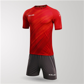Kelme Junior Extremo Jersey & Short Set – Red/White