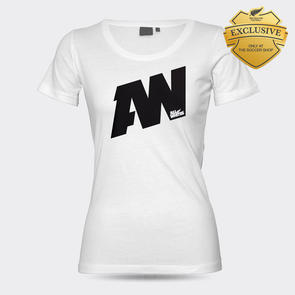All Whites Women's AW Graphic Supporter Tee