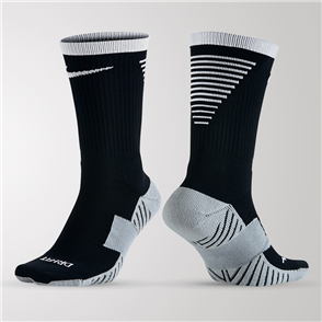 Nike Dry Squad Crew Sock – Black