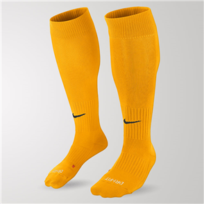 Nike Classic II Cushion OTC Sock – Yellow