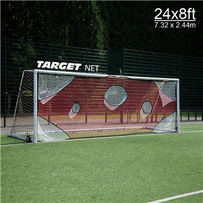 Quickplay Quickplay Full Size Goal Target Net (7.32m x 2.44m)