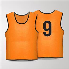 TSS 1-11 Numbered Training Bibs Set – Orange