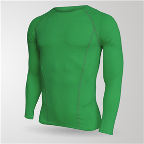 TSS Junior Baselayer Long Sleeve Tee – Green