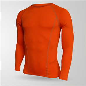 TSS Junior Baselayer Long Sleeve Tee – Orange