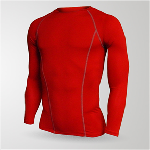 TSS Junior Baselayer Long Sleeve Tee – Red