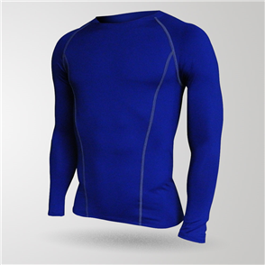 TSS Junior Baselayer Long Sleeve Tee – Blue