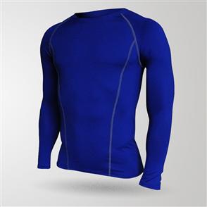 TSS Junior Baselayer Long Sleeve Tee – Blue