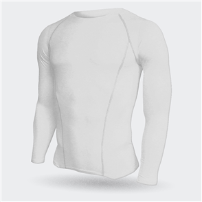 TSS Junior Baselayer Long Sleeve Tee – White