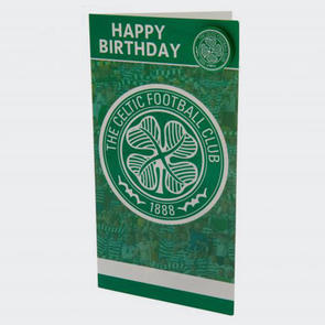 Celtic Birthday Card & Badge