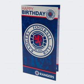 Rangers Birthday Card & Badge