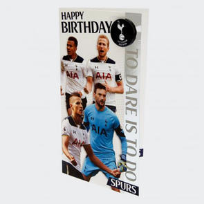 Tottenham Hotspur Birthday Card
