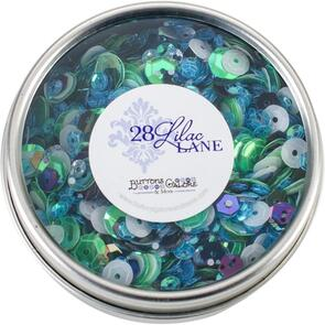 28 Lilac Lane Tin W/Sequins 40g - Party Time