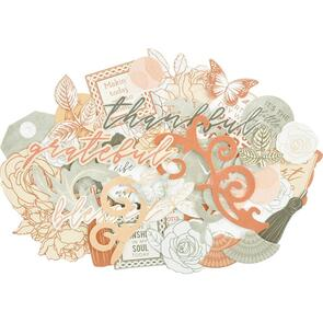 Kaisercraft  Collectables Cardstock Die-Cuts - Peachy