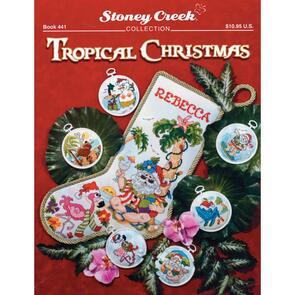 Stoney Creek Tropical Christmas Cross Stitch Pattern Book