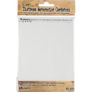 Ranger Ink Tim Holtz Distress Watercolor Cardstock 20/Pkg