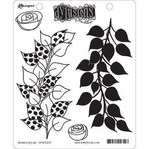 Ranger Ink Dylusions Cling Stamp Collections - Branching Out