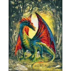 Riolis  Forest Dragon - Cross Stitch Kit