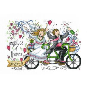 "Imaginating  Counted Cross Stitch Kit 8.75""X5.75"" - Wedding Ride"