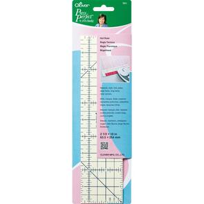 "Clover Press Perfect By Joan Hawley Hot Ruler 2.5""X10"""