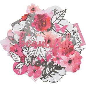 Kaisercraft  Collectables Cardstock Die-Cuts - Magenta