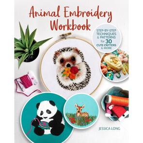 Fox Chapel Publishing Animal Embroidery Workbook