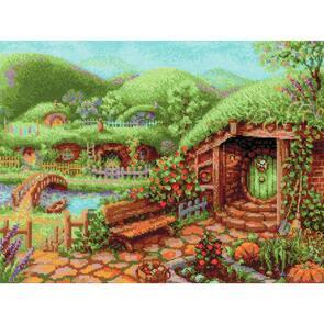 Riolis  Cross Stitch Kit - Green Hills