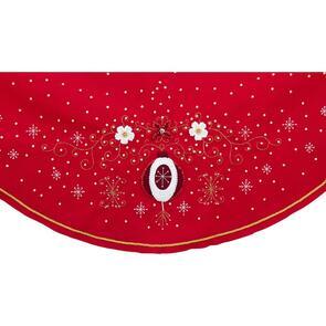 """Bucilla  Felt Tree Skirt Applique Kit 43"""" - Holiday Elegance"""