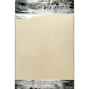 "Ranger Ink  Distress Mixed Media Heavystock 10/Pkg 8.5""X11"""
