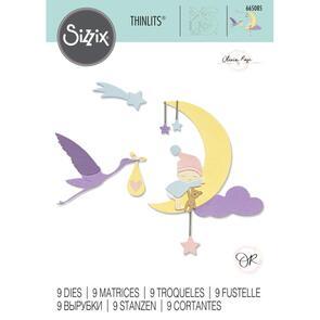 Sizzix  Thinlits Die Set 9PK - Lunar Baby