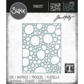 Sizzix Tim Holtz Thinlits Die - Bubbling by