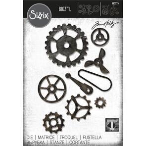 Sizzix Tim Holtz Bigz L Die - Mechanical by