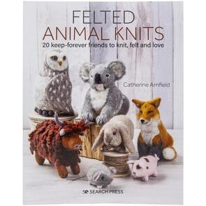 Search Press  Felted Animal Knits Book