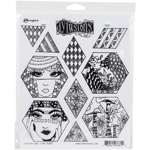 Ranger Ink Dylusions Cling Stamp Collections - Quiltalicious